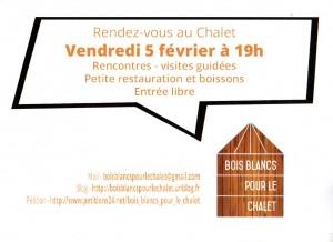 affiche RV au Chalet003